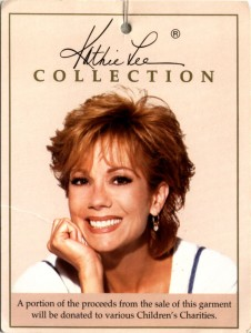 Kathie Lee Gifford tag. Image courtesy of NLCNet.