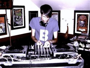 DJ Bones -Photo by Mary-Jane Doucette