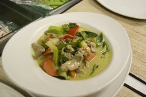 Thai Orchid Rom - Green Curry Pork