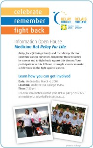 Relay For Life - Promotional Banner