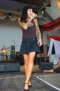Bif Naked (Beth Torbert) Live - Photo from MySpace