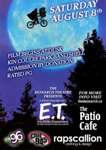 E.T. poster by The Monarch Theatre