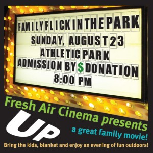 Fresh Air Cinema presents UP