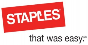 Staples - that was easy.