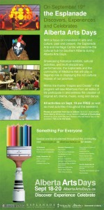 Alberta Arts Days Poster