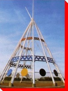 Saamis Teepee by Roadside Attractions