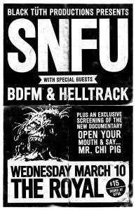 SNFU - March 10