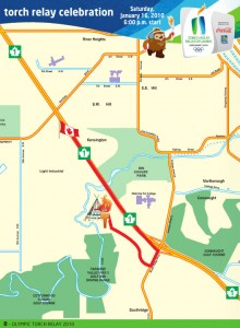 Olympic Torch Relay Routes #1