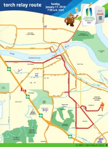 Olympic Torch Relay Routes #2