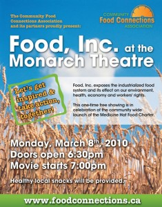 Food, Inc. at the Monarch Theatre