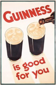 Beautifully Retro Guinness Poster/Ad Design