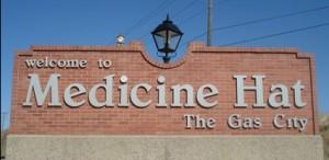 Arrival in Medicine Hat