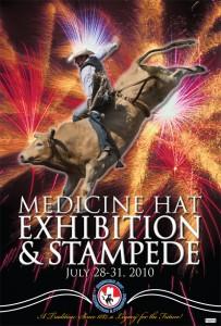 Medicine Hat Stampede 2010 Poster