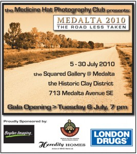 Medicine Hat Photography Club Poster