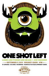 One Shot Left @ Whiskey Creek