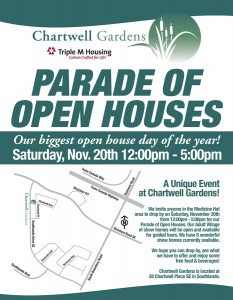 Parade of Open Houses Flyer