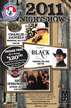 2011 Nightshows Poster