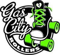 Gas City Rollers Logo