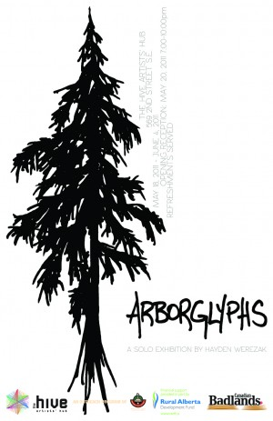 Arborglyphs Poster