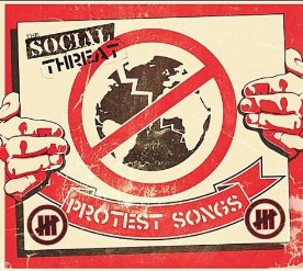 The Social Threat - Protest Songs Cover Art