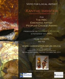 Xanthe Isbister, RBC Emerging Artist Award Nominee