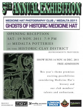 Ghosts of Historic Medicine Hat