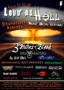 Loud As Hell Heavy Metal Festival