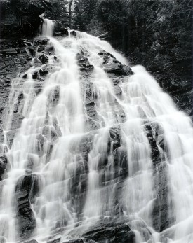 Tom Willock, Lower Bertha Falls, Waterton Lakes National Park, 1993, gelatin silver